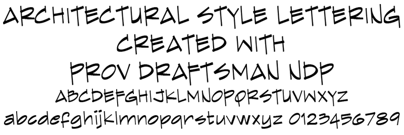 AutoDesSys Forums Architectural Font For Lettering