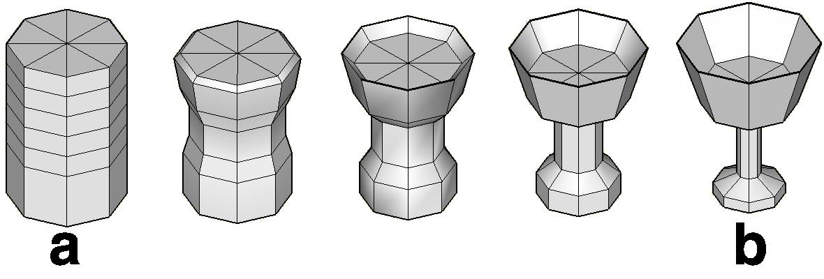 Bending, Morphing, and Draft Angles